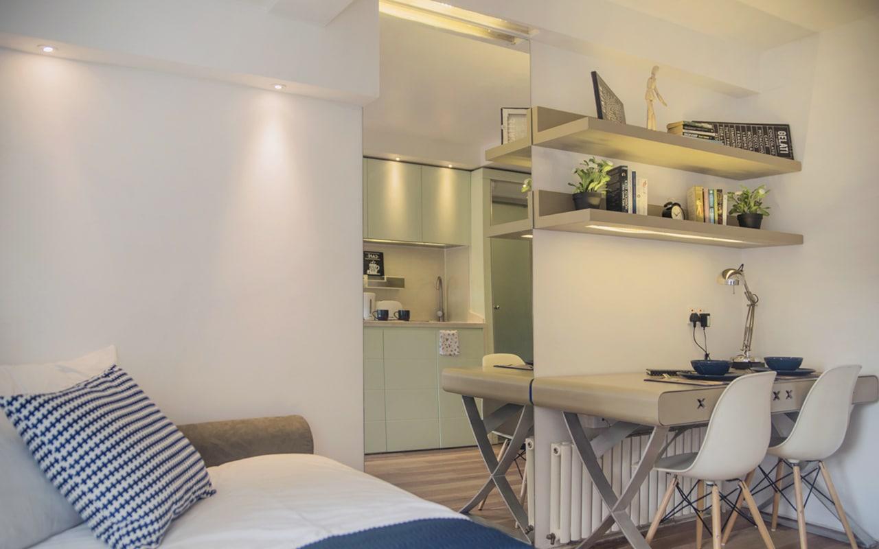 Club Single Studio - The Stay Club Camden - London Student Accommodation